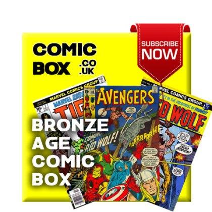 Bronze Age Mystery Comic Box