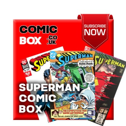 Superman Mystery Comic Box