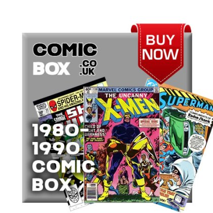 'Buy Now' 1980-1990 Mystery Comic Box