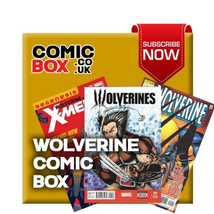Mystery Wolverine Comic Box
