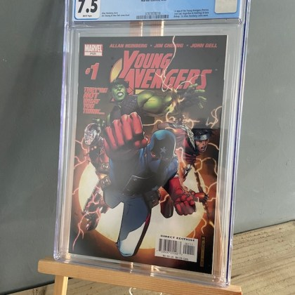 CGC Graded [7.5] Marvel Young Avengers #11st App Young Avengers