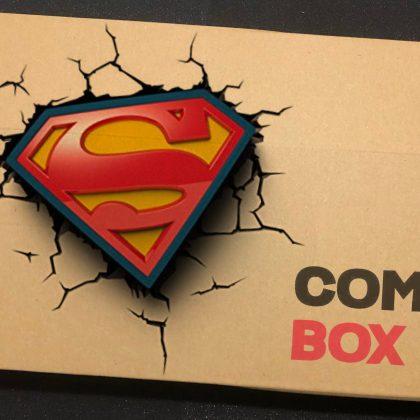 Mystery Superman Comic Box 'Promo'