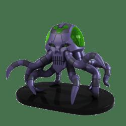 DC HeroClix: Brainiac Skull Ship