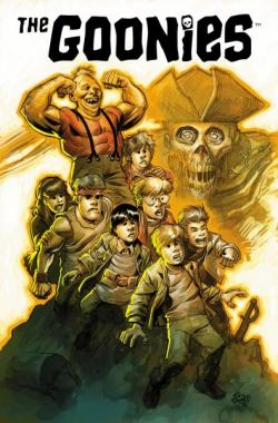 The Goonies 30th Anniversary San Diego Comic-Con Exclusive Print by Eric Powell