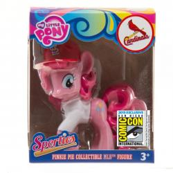 My Little Pony Pinkie Pie Sporty Vinyl Figure  in St. Louis Cardinals Jersey