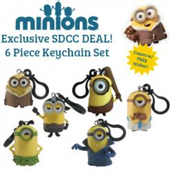 Minions Keychain Set
