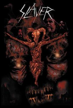 Slayer Exclusive Metal Comic Cover