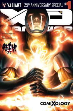 Valiant's X-O Manowar: Valiant 25th Anniversary Special #1 comiXology Variant
