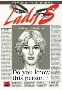 HC - Lady S 9 - Für das Leben einer Frau  - van Hamme - Zack NEU