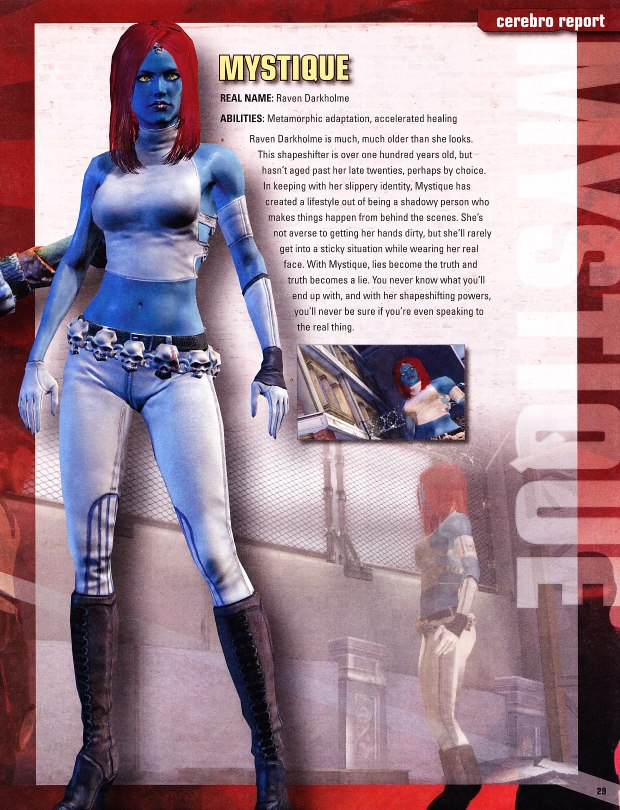 Mystique 2 Mystique   X men