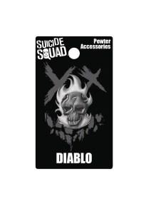 SUICIDE SQUAD DIABLO PEWTER LAPEL PIN 212x300 SUICIDE SQUAD DIABLO PEWTER LAPEL PIN