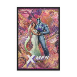 Kitty and Colossus – X-Men Gold #30 Variant Edition Framed Print
