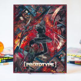 Prototype | One of A Kind Handmade Comic Art Gamer Canvas