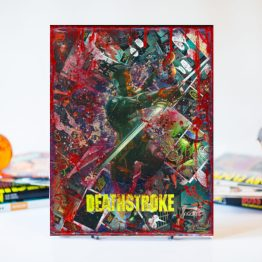 Deathstroke | One of A Kind Handmade DC Comic Book Canvas