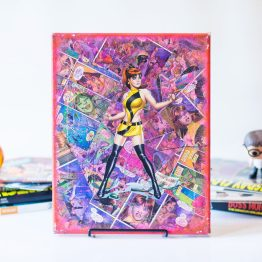 Watchmen | One of A Kind Handmade DC Comic Book Canvas