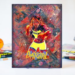 Batgirl | The Batgirl of Burnside | One of A Kind Handmade DC Comic Book Canvas