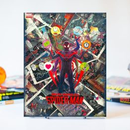 Miles Morales: Spider-Man #2  – One of A Kind Marvel Comic Book Canvas