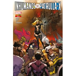 INHUMANOS VS. PATRULLA-X 06