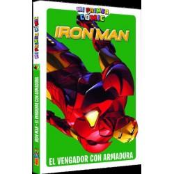 MI PRIMER COMIC. IRON MAN: EL VENGADOR CON ARMADURA