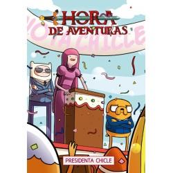 HORA DE AVENTURAS: PRESIDENTA CHICLE