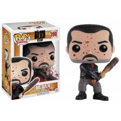 NEGAN ENSANGRENTADO FIGURA 10 CM VINYL POP THE WALKING DEAD