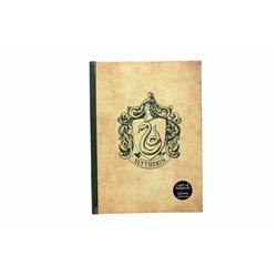 SLYTHERIN LIBRETA CON LUZ HARRY POTTER