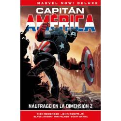 CAPITÁN AMÉRICA DE RICK REMENDER 01. NÁUFRAGO EN LA DIMENSION Z (MARVEL NOW! DELUXE)