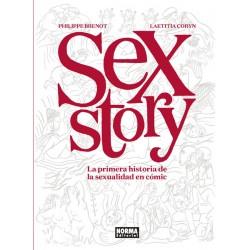 SEX STORY. LA PRIMERA HISTORIA DE LA SEXUALIDAD DEL COMIC