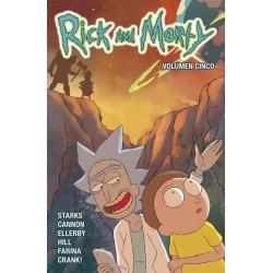 RICK Y MORTY 5