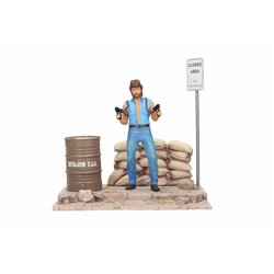 MATT HUNTER SET DE LUJO CON DIORAMA FIGURA 18 CM TOUGH GUY MGM