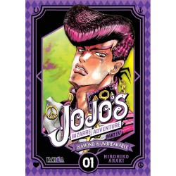 JOJO'S BIZARRE ADVENTURE PARTE 4: DIAMOND IS UNBREAKABLE 01