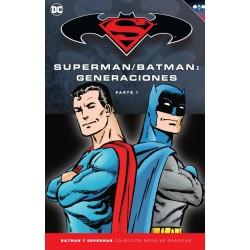 BATMAN Y SUPERMAN - COLECCIÓN NOVELAS GRÁFICAS NÚM. 53: BATMAN/SUPERMAN: GENERACIONES (PARTE 1)
