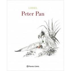 Peter Pan de Loisel (edición de lujo blanco y negro)