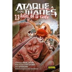 ATAQUE A LOS TITANES: ANTES DE LA CAIDA 13