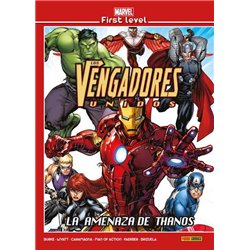 MARVEL FIRST LEVEL 16: LOS VENGADORES: LA AMENAZA DE THANOS