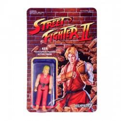 Street Fighter II Figuras ReAction 10 cm Ken