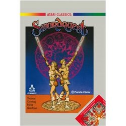 Swordquest de Roy Thomas y George Pérez (Atari comics)