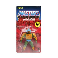 Masters of the Universe Figura Vintage Collection Wave 2 Man-At-Arms 14 cm