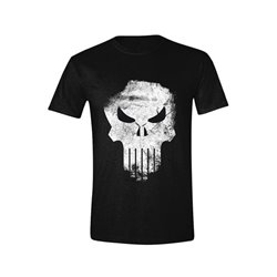 The Punisher Camiseta Distressed Skull