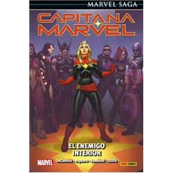 CAPITANA MARVEL 03: EL ENEMIGO INTERIOR (MARVEL SAGA 87)