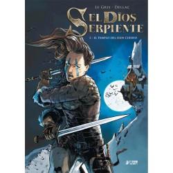 EL DIOS SERPIENTE 02. EL TEMPLO DEL DIOS CUERVO