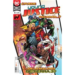 YOUNG JUSTICE NÚM. 08