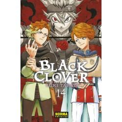 BLACK CLOVER 14 + COFRE