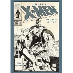 JIM LEE'S X-MEN ARTIST'S EDITION HC