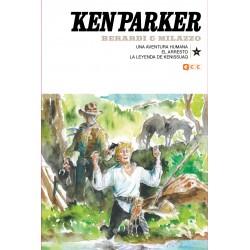 KEN PARKER NÚM. 36: LA AVENTURA HUMANA/EL ARRESTO/LA LEYENDA DE KENISSUAQ