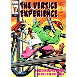 COMIC-BOOK: THE VERTICE EXPERIENCE: UN VIAJE A LA NOSTALGIA