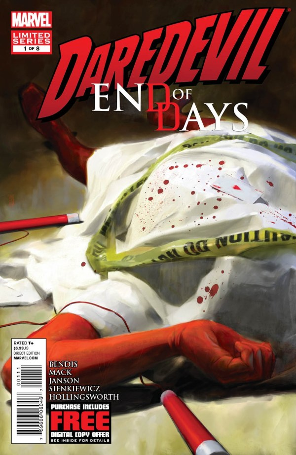 First Look - Daredevil: End of Days #1
