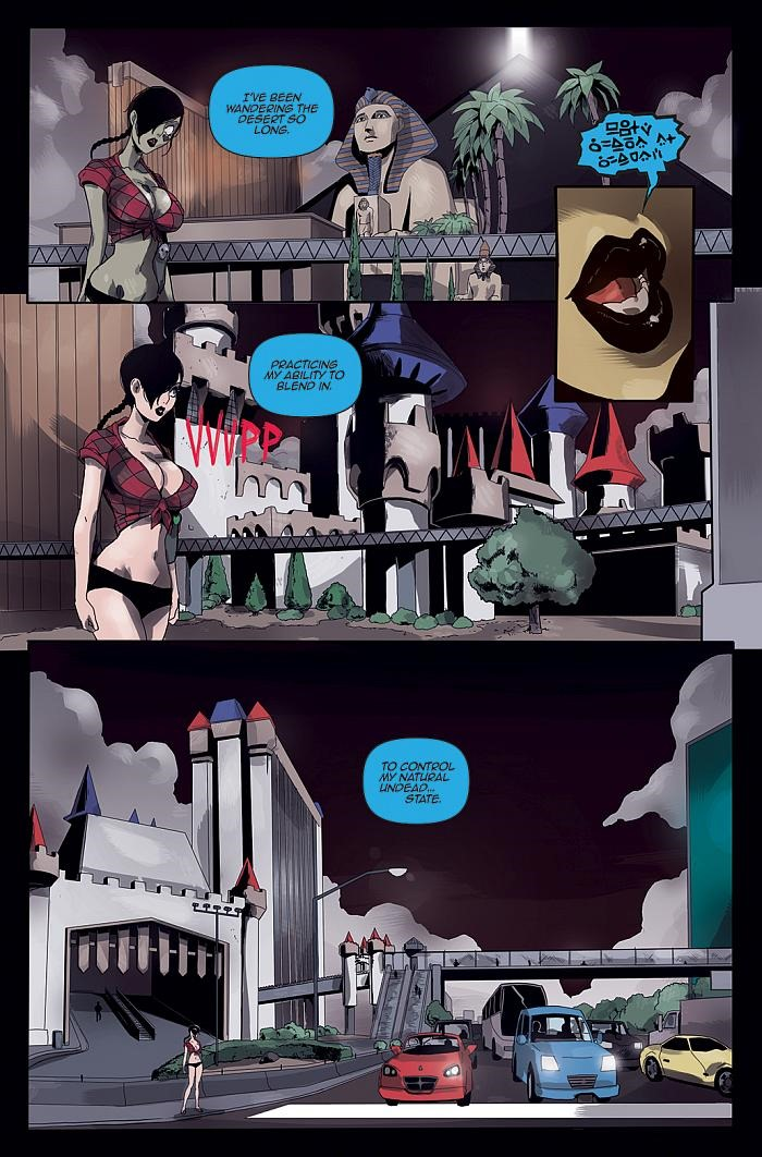 Preview Of Zombie Tramp 1 By Mendoza Martin And Tmchu