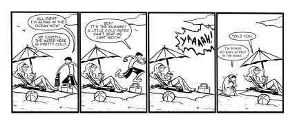 """from the Salt Water Taffy Webcomic """"the Beach"""" click to check out the rest"""