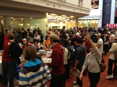TCAF 2013 Fantagraphics Booth